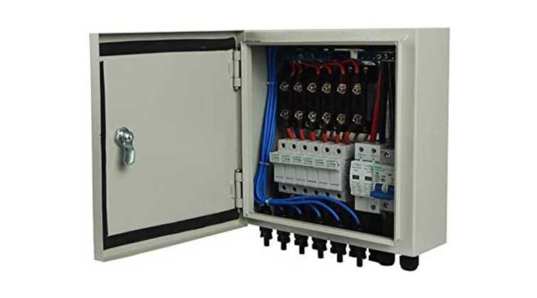 6 string PV Combiner box