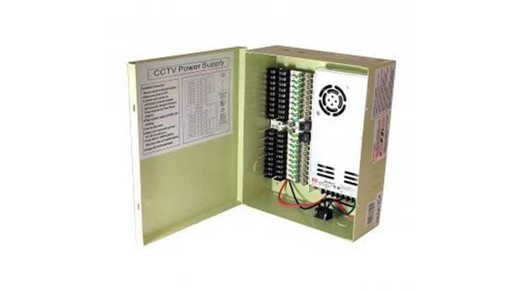CCTV power supply box 1